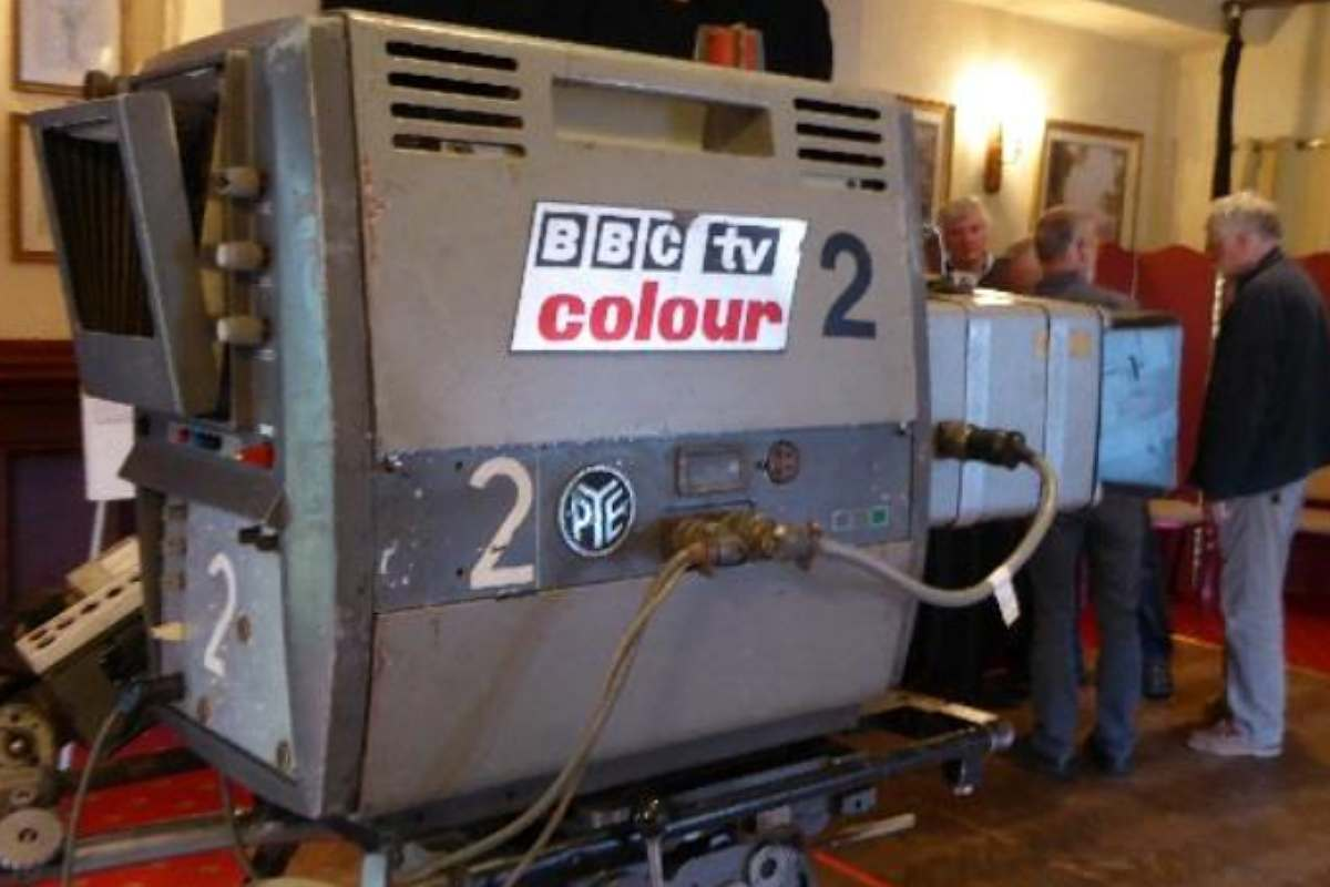 Pioneering Ex BBC Television Crews Responsible For Bringing Colour Into Our Homes In The Late 1960s Will Bring TV History To Life Foyer Of